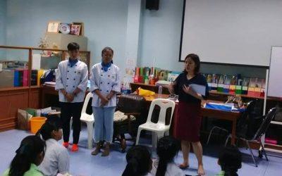 แนะแนวการศึกษาต่อและอาชีพ ณ โรงเรียนมัธยมวัดอินทาราม เขตธนบุรีจังหวัดกรุงเทพฯ ครั้งที่ 2