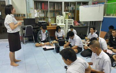 แนะแนวการศึกษาต่อและอาชีพ ณ โรงเรียนมัธยมวัดอินทาราม เขตธนบุรี จังหวัดกรุงเทพฯ ครั้งที่ 3
